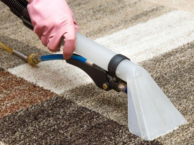 Этапы чистки ковров